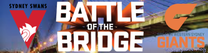 It's the Battle of the Bridge!