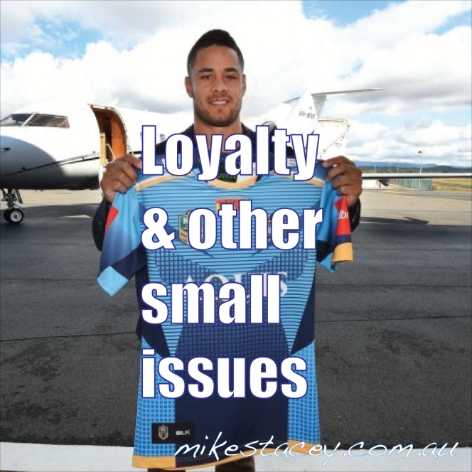 Loyalty and other small issues