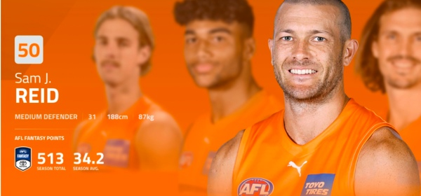 Image from GWS Giants profile page